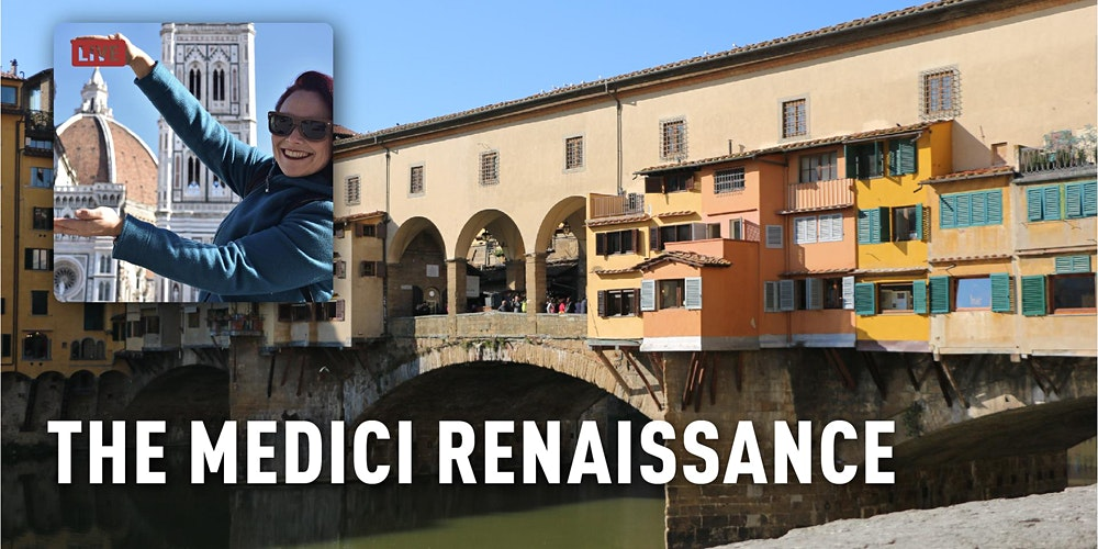 Birthplace of the Renaissance: Florence Interactive Live Virtual Tour  Tickets, Sun, Oct 10, 2021 at 3:15 PM | Eventbrite