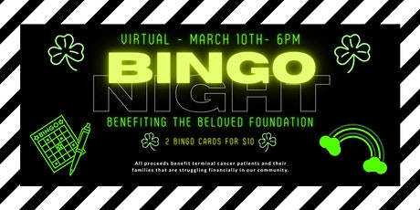 Virtual BINGO Night benefitting the Beloved Foundation tickets