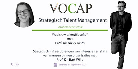 VOCAP Themareeks Strategisch talent Management | Deel 1: Academische Sessie tickets