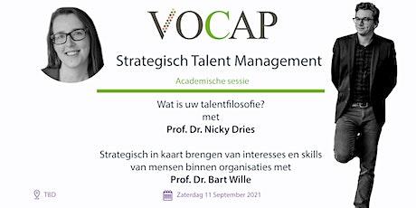 VOCAP Themareeks Strategisch talent Management | Deel 1: Academische Sessie tickets