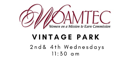 Women on a Mission to Earn Commission Vintage Park tickets