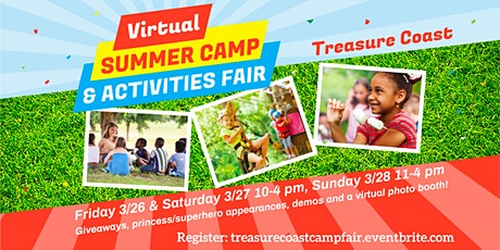 Treasure Coast Camp & Activities Fair (Virtual) tickets