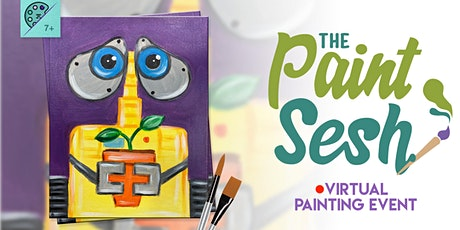"Online Painting Class – ""Wall-E"" (Virtual Painting at Home) tickets"