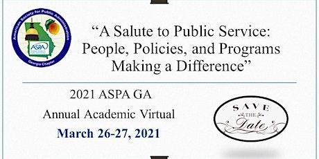 ASPA GA 2021 Virtual Conference - Student Registration tickets