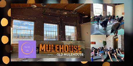 Yoga & cocktail/ coffee @ Old Mulehouse tickets