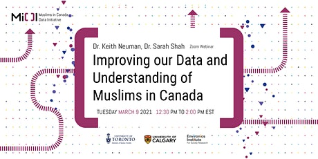 MiCDI:  Improving our Data and Understanding of Muslims in Canada tickets
