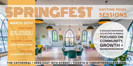 atxGALS + The Cathedral Springfest 2021 Saturday Panel Sessions tickets