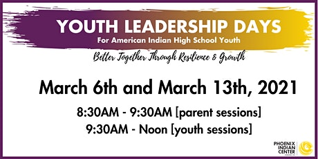Youth Leadership Days tickets