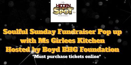 Soulful Sunday Pop up  Fundraiser tickets