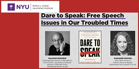 Panel Discussion: Dare to Speak: Free Speech Issues in Our Troubled Times tickets