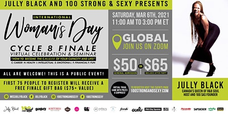 100 Strong & Sexy Cycle 8 Finale | Become the C.H.I.E.F.F of your life! tickets