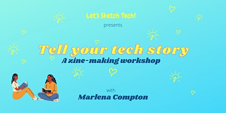 Let's Sketch Tech! MARCH 2021 monthly meetup tickets