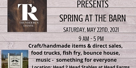 Spring at the Barn tickets