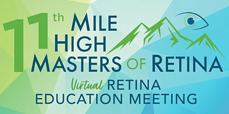 Virtual Mile High Masters of Retina tickets
