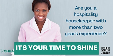 Free Information Session  for  Housekeeping Transitions Training Program tickets