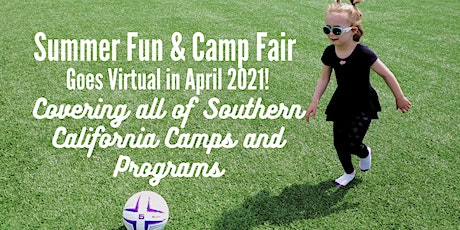Virtual Summer Opportunities + Camp Fair Presented by SoCalMoms + MomsLA tickets