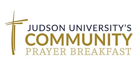 Judson University's 2021 Community Prayer Breakfast tickets
