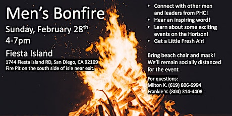 Men's Connect and Bonfire tickets