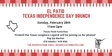 Texas Independence Day Brunch and Pop Up Market with Fireball the Longhorn tickets