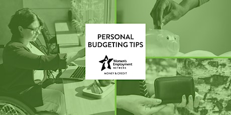 Personal Budgeting Tips tickets