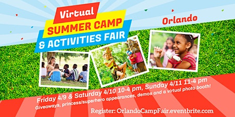 Orlando Camp & Activities Fair (Virtual) tickets