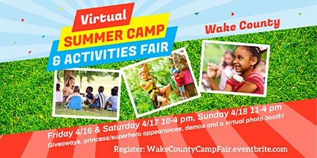 Wake County Camp & Activities Fair (Virtual) tickets