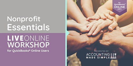 Software  Essentials for Nonprofits using QuickBooks Online tickets