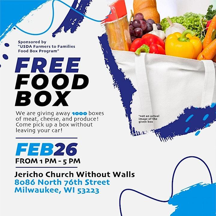 Jericho Church Without Walls Free Food Box image