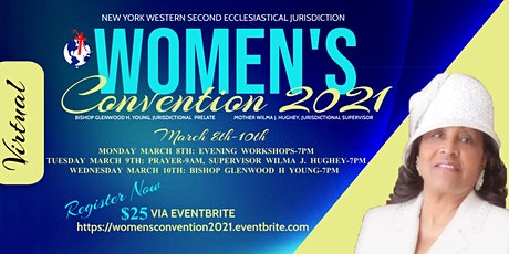New York Western Second Women's Convention 2021 tickets