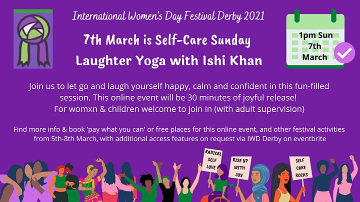 Laughter Yoga with Ishi Khan image