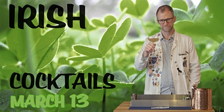 Irish Cocktails with Dr Inkwell (ingredients included!) tickets