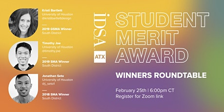 Student Merit Award Winners Roundtable tickets