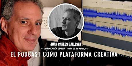 [Taller] El Podcast como Plataforma Creativa entradas