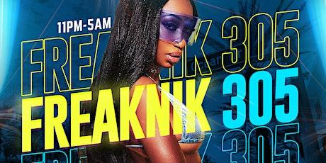 FREAKNIK 305 (What Happens in Miami Spring Break Stays in Miami) tickets