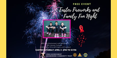 Easter Fireworks and Family Fun Night tickets