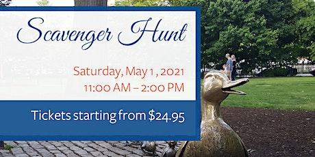 Socially Distanced Scavenger Hunt: Boston Edition tickets
