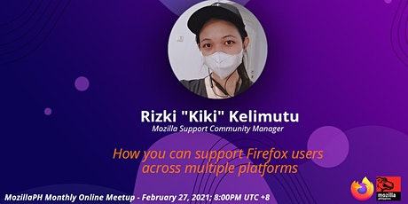 MozillaPH Monthly Online Meetup (FEB 2021) tickets