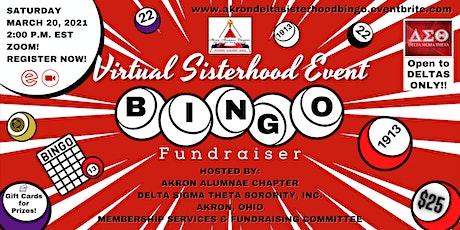 AAC Sisterhood Virtual Bingo Event (Fundraiser) tickets