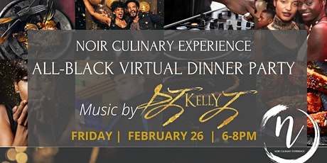 All-Black Everything Virtual Dinner Party tickets