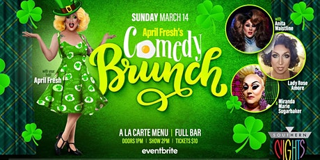 April Fresh's Comedy Brunch tickets