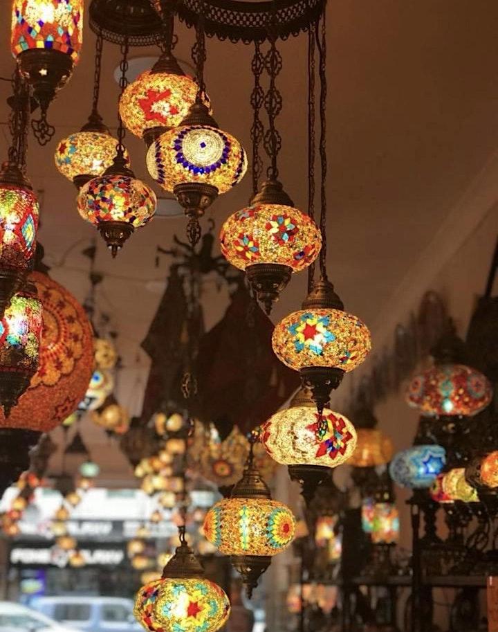 Turkish Mosaic Lamp Workshop Chermside image