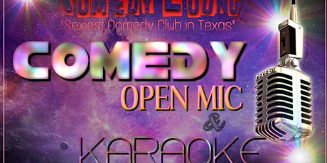 Wild Out Wednesday Open Mic Komedy & Karaoke - Free Event tickets