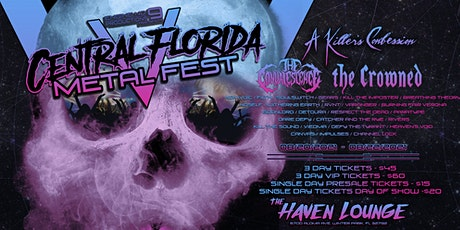 CENTRAL FLORIDA METAL FEST V tickets