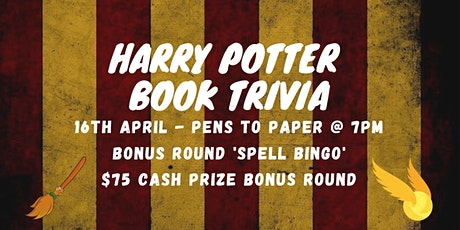 Harry Potter // Book Trivia // Free to Play tickets