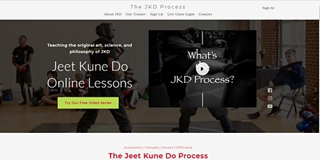 Online Jeet Kune Do Martial Arts tickets