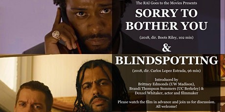 The RAI Goes to the Movies: Sorry to Bother You  +  Blindspotting tickets
