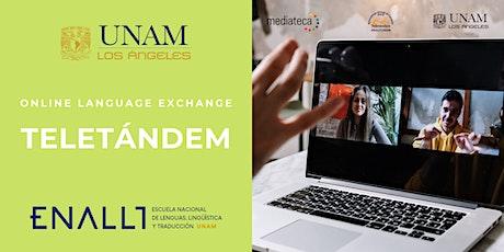 Online Language Exchange - Teletandem bilhetes