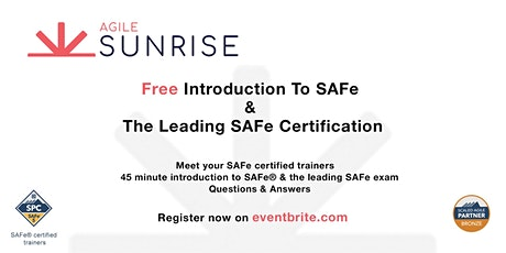 Free Introduction to SAFe and the Leading SAFe Certification tickets