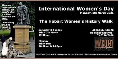 Hobart Women's Walk tickets