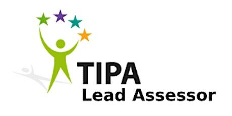 TIPA Lead Assessor 2 Days Training in San Francisco, CA tickets